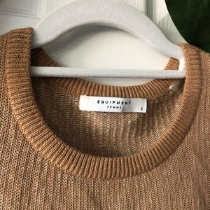 Equipment Sweaters - Equipment Camel Colored Cashmere Sweater